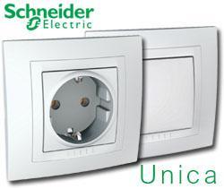 Розетки и выключатели Schneider Unica