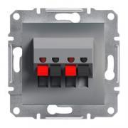 Аудиорозетка стерео Schneider Electric Asfora EPH5700162 сталь