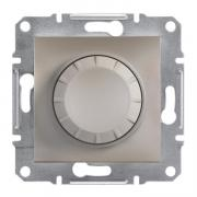 Диммер поворотный 20-315 Вт Schneider Asfora EPH6600169 бронза