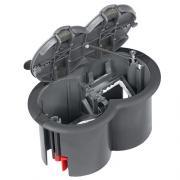 Лючок розеточный на 2 механизма для пола Schneider Ultra ETK44104