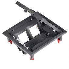 Лючок розеточный на 4 механизма для пола Schneider Ultra ETK44104