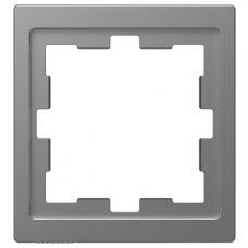 Рамка 1 постовая, Schneider Merten D-Life Нержавеющая сталь MTN4010-6535