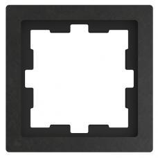 Рамка 1 постовая, Schneider Merten Базальт D-Life MTN4010-6535
