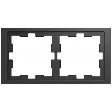 Рамка 2 постовая, Schneider Merten D-Life Антрацит MTN4020-6535