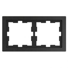 Рамка 2 постовая, Schneider Merten Базальт D-Life MTN4020-6535