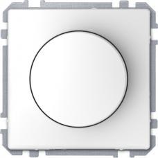 Диммер поворотный для LED ламп, Schneider Merten D-Life Белый лотос