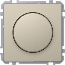Диммер поворотный для LED ламп, Schneider Merten D-Life Сахара