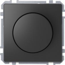 Диммер поворотный для LED ламп, Schneider Merten D-Life Антрацит