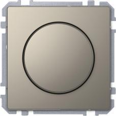Диммер поворотный для LED ламп, Schneider Merten D-Life Никель