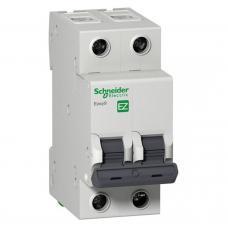 Автоматический выключатель Schneider EZ9 2Р 6А С EZ9F34206