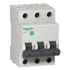 Автоматический выключатель Schneider EZ9 3Р 6А С EZ9F34306