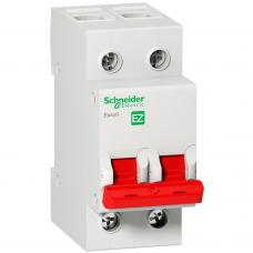 Выключатель нагрузки Schneider EZ9 І-О 2Р 400В 40А 5кА EZ9S16240